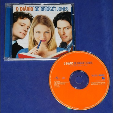 O Diário de Bridget Jones - Trilha Sonora do Filme - Cd - 2001